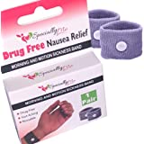 SPECIALLYME Anti-Nausea Acupressure Wristbands for Morning Sickness Relief | Motion Sickness Bracelet