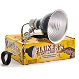 Fluker's 27002 Repta-Clamp Lamp with Switch for Reptiles, 5.5-Inch