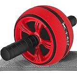 HACFIT 腹筋ローラー 静音 マット付き 腹筋 ローラー トレーニング 筋トレ 器具 ダイエット 耐荷重200KG…