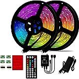 LED Bluetooth Light Strip, 10M / 15M / 20M / 25M Bluetooth RGB 5050 LED Light Strip, 12V 44TR Music Sound Control Light Strip