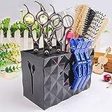 MissLytton Professional Salon Scissors Holder Rack, Hairdresser Scissor Storage Case Keeper, Modern Hairdressing Combs Clips
