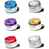 VOLLUCK Hair Color Wax for Short Hair, Professional Hair Pomades, Temporary Hairstyle Cream, Natural Hairstyle Wax for Show,P