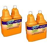 Swiffer Wet Jet Multi Purpose Solution ldRmyRW, Sweet Citrus & Zest Scent, 1.25-Liter Bottles (Pack of 4)