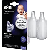 Braun ThermoScan Lens Filters for Ear Thermometer, Disposable Covers LF40US01 (40 Count)