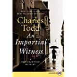 An Impartial Witness Large Print: A Bess Crawford Mystery: 02