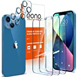 Amazon Brand – Eono【3枚セット】iPhone 13 Mini ガラスフィルム+【3枚セット】iPhone 13 Miniカメラフィルム【貼り付けやすい/硬度9H/高透過率/3Dタッチ対応/気泡防止】アイフォン13 mini ガラス