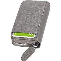[NEESE] クレジットカードケース カード入れ スキミング防止 じゃばら 大容量 コインケース メンズ レディース