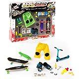 Grip&Tricks - 5 Rider Set a Set of 5 Toys - Finger Skates - Roller - BMX - Scooter