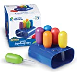 Learning Resources Jumbo Eyedroppers, Assorted, 6 Count