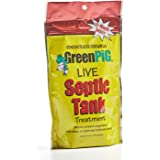GreenPig Solutions 52 Concentrated Formula Live Septic Tank Treatment, 1 Year Supply