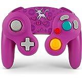 PowerA Nintendo Switch ニンテンドースイッチ ワイヤレス ゲームキューブ GC型 コントローラー ポケモン エーフィ エディション [並行輸入品]