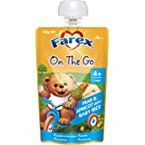 Farex Farex Pear and Apricot with Rice Pouch, 120g