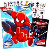 Marvel Spiderman Colouring Book with Over 270 Spiderman Stic…