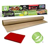 COOKINA Cuisine Reusable Baking Mat – 100% Non-Stick, Easy to Clean Cooking Sheet for Gas, Electric, Toaster and Convection O