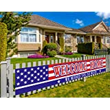 Large Welcome Home Banner, Deployment Returning Party Supplies, Military Army Homecoming Party Decorations, Sweet Home Decor