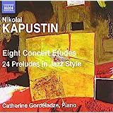 8 Concert Etudes/24 Preludes in Jazz Style