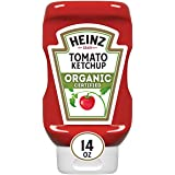 Heinz Organic Certified Tomato Ketchup, 14 oz Bottle