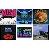 Rush: The Early Years Collection - 5 Studio Albums (Rush / Fly By Night / Caress of Steel / 2112 / A Farewell To Kings) + Bon