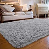 Soft Fluffy Shaggy Kids Room Nursery Rug Warm Area Rugs for Bedroom Living Room Carpet for Children Room Baby Floor Playmats