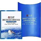 SNP Bird`s Nest Aqua Ampoule Mask, 10 Count