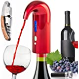 Electric Wine Aerator Pourer, Wine Bottle Opener Best Sellers With Wine Accessories 2020 Premium Wine Decanter Spout Perfect