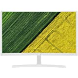 Acer ED242QR 23.6-Inch Full HD Curved Display Monitor, 1920 x 1080, VGA and HDMI (v1.4),White
