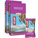 CLIF BAR - Energy Bars - Chocolate Chip Peanut Crunch Protein Bars - (2.4 oz Bars, 12 Count, 2-Pack) - Packaging May Vary