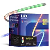 LIFX Lightstrip 2m, Wi-Fi Smart LED Light Strip, Full Colour Zones with Polychrome Technology, No Bridge Required, Compatible