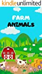Farm Animals: Book for Ages 2-7 for Kids, Toddlers ,Boys,Girls,Kids, preschool&Kindergarten,1st Grade , Picture Book...