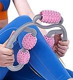 ふくらはぎマッサージローラー 最新!5つのローラー 足 マッサージ ローラー マッサージローラー 脚 筋膜ローラー リンパマッサージ ローラー 筋膜リリース ふくらはぎ グリッドフォームローラー 手持ち挟む式 脚やせ 美足 フォームローラー ダイエット むくみ解消 筋肉 揉みほぐす ストレッチ マッサージャー 健康器具 ヨガグッズ エクササイズ 柔らかいエコ素材 便携 軽量 水洗い可能