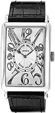 [フランクミュラー]FRANCK MULLER 腕時計 ロングアイランド シルバー文字盤 1200SCRELSLV BLKSVH メンズ 【並行輸入品】
