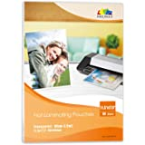 """Hot Thermal Laminating Pouch 11.5x17.5-3.5mil 5mil Thickness for 11x17 Documents Sealed Inkuway (11.5""""17.5""""60-80um)"""