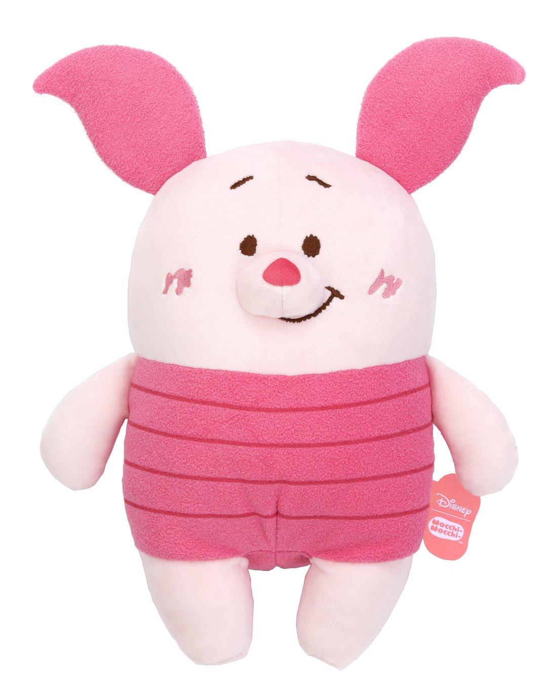 White Plush Doll M Minnie Mouse Disney Mocchi-Mocchi Sitting height 44 cm