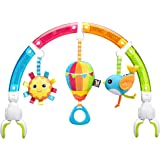 BENBAT Dazzle Friends Rainbow Play Arch Hanging Toy for Newborn and Above, Multi/Colour
