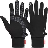 Cevapro アウトドアグローブ ランニンググローブ 軽量 スポーツ 手袋 メンズ レディース 防寒グローブ スマホ対…