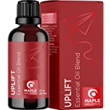 Happiness Essential Oil Mood Lift - Mood Support Essential Oil Blends for Diffuser with Ylang-Ylang Essential Oil - Calming E