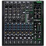 Mackie ProFXv3 Series, 10-Channel Professional Effects Mixer with USB, Onyx Mic Preamps and GigFX effects engine - Unpowered