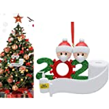 ShiQiao Spl 2020 Christmas Ornaments Decorations Gifts, Personalized Christmas Ornament Covid Quarantine Xmas Gifts for Co-Wo
