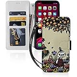Iphone11ケース 互換性のある 手帳型 財布型 ムーミン サイドマグネット式 カード収納 スタンド機能 ストラップ付き 高級puレザー Tpu 耐衝撃 軽量 薄型 アイフォン11 ケース スマホケース 防塵 耐久性 装着やすい