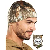 Tough Headwear Skull Cap/Helmet Liner/Running Beanie - Ultimate Thermal Retention and Performance Moisture Wicking. Fits Unde