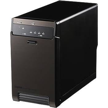 ロジテック 2BAY(NonRAID)外付型3.5インチハードディスクケース【LHR-2BNU3】