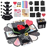 Kicpot Creative Explosion Gift Box, Love Memory DIY Photo Album as Birthday Gift and Surprise Box About Love Opend with 14''x