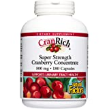 Natural Factors CranRich Super Strength Cranberry Concentrate 500 mg 180 Capsules