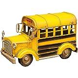 スクールバス イエロー 世田谷ベース ブリキ U.S.ミニチュア ブリキ カー アメリカ雑貨 ヴィンテージ風 レトロ クラッシック