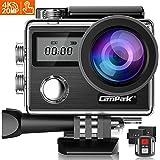 Campark X20C アクションカメラ 4K高画質 2000万画素 HDMI出力 30M防水 WiFi搭載 170度広角レンズ