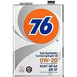 76 (ナナロク) エンジンオイル 0W-20 4L 4輪ガソリン車専用 全合成油 API SP/ILSAC GF-6 / 76 LUBRICANTS ナナロク ルブリカンツ SJL76005