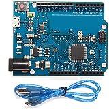 HiLetgo Leonardo R3 Pro ATmega32U4 Micro USB Arduinoと互換 ケーブル付き [並行輸入品]