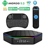 T95Z Plus Android TV Box 3GB RAM/32GB ROM Android 7.1 Octa Core Amlogic S912 TV Box with 4K Dual Band WiFi 2.4GHz/5GHz Blueto
