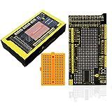 keyestudio MEGA Protoshield V3 for Arduino Mega 2560 with Mini Breadboard, and Easy to Use