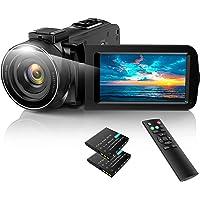 ACTITOP ビデオカメラ HDビデオカメラ デジタルビデオカメラ 3600万画素 HD1080P 16倍デジタルズー…
